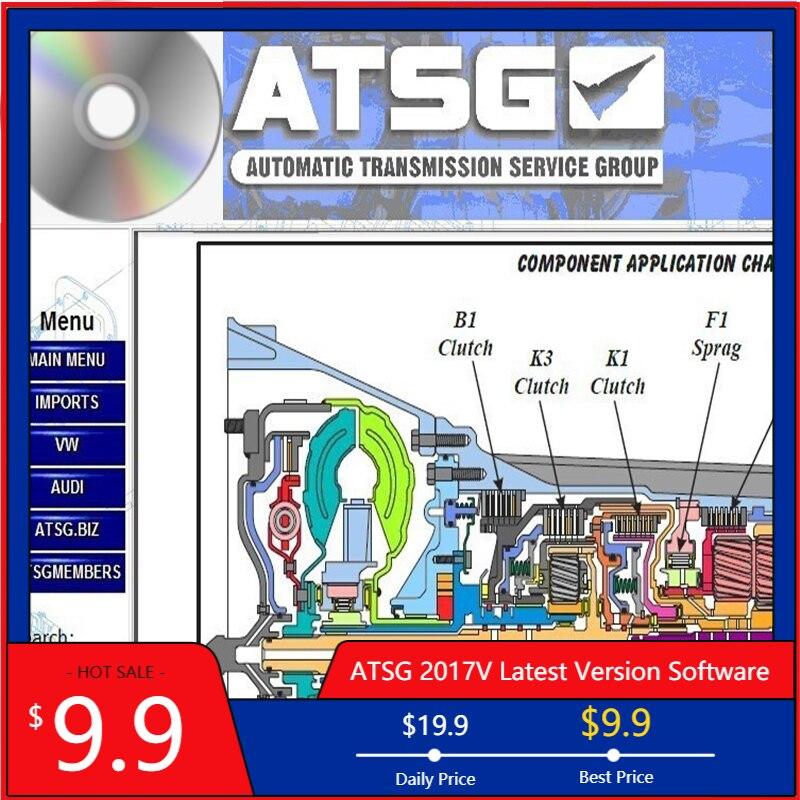 2021 программное обеспечение для ремонта автомобиля ATSG, программное обеспечение для ручной диагностики, Автомобильный сканер, автомобильное...