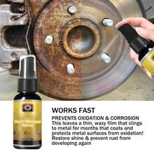30ml carro de ferrugem inibidor dent removedor janela roda hub parafuso derusting spray manutenção do carro limpeza pintura cuidados automóvel acessórios