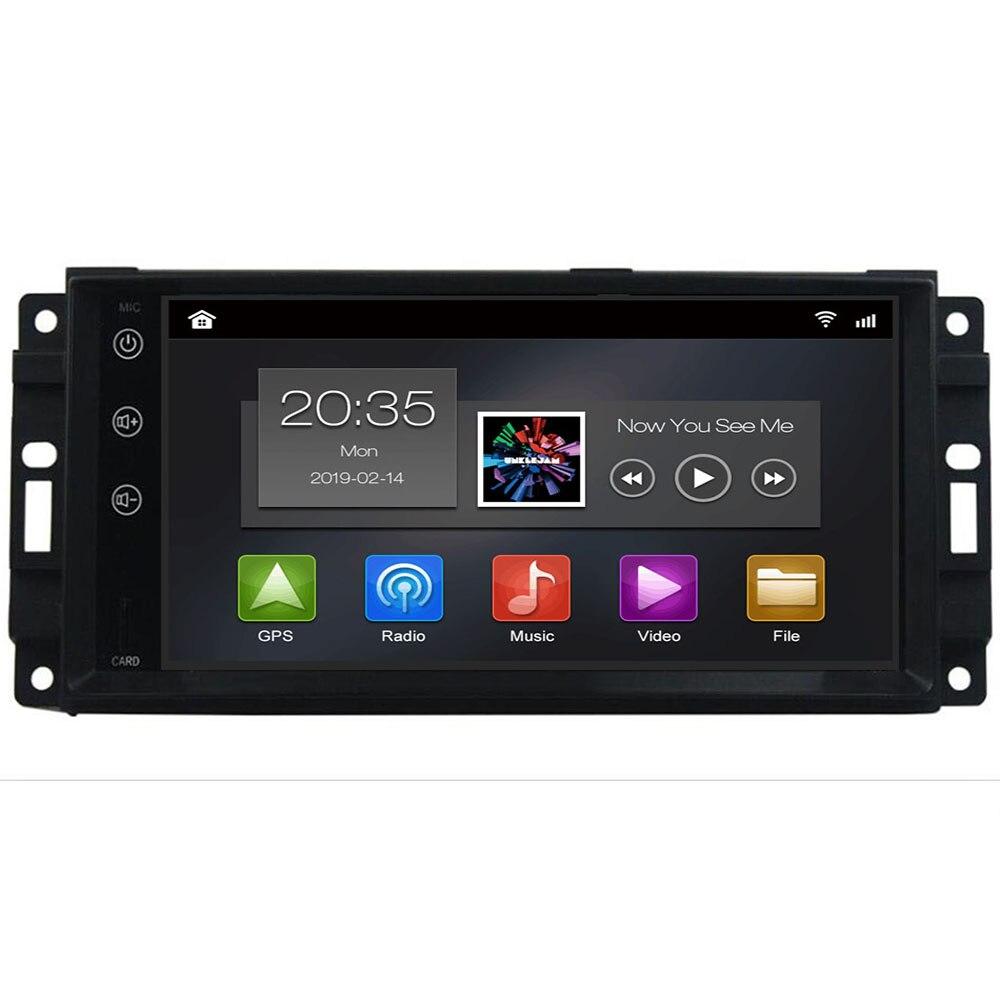 4g 64g dsp android 10 reprodutor de dvd multimídia do carro gps estéreo para chrysler/300c/jeep/bússola/dodge/grand/cherokee rádio do carro obd2