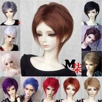 Парик для кукол BJD, искусственные мохеровые Волосы размеров 1/3, 1/4, 1/6, 1/8, в кукла с длинными волосами, аксессуары, разные цвета на выбор