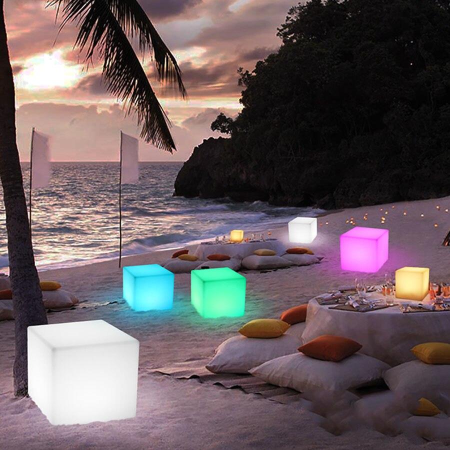 cadeira de bar com iluminacao led 10 30 40cm luz noturna ambiente externo banqueta