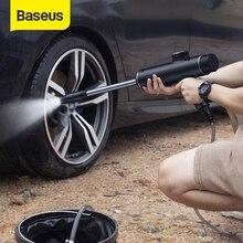 Baseus автомобильный водяной пистолет высокого Давление очиститель Авто омывателем Автомобильная моющая машинка электрическая очистная автоматический прибор для укладки волос