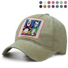 Les Jokers Clown amis Casquette de Baseball papa solide camionneur Snapback os chapeau femme bérets queue de cheval casquettes Casquette Gorras Boinas chapeau