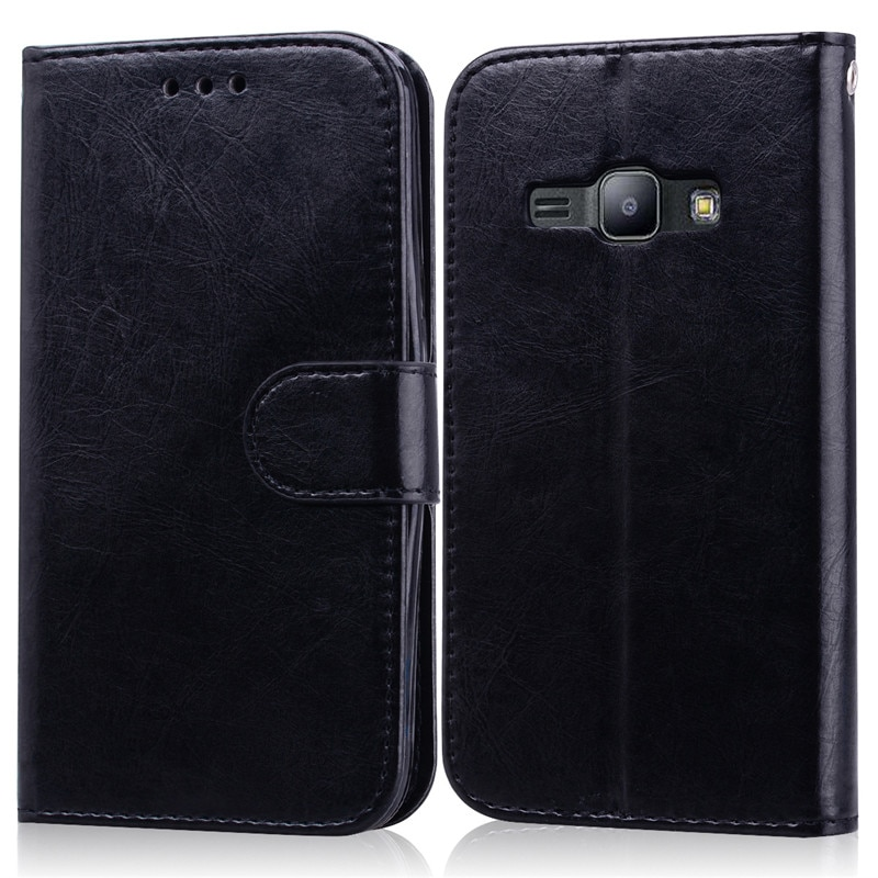 Флип-кейс для Samsung Galaxy J1 2016, мягкий чехол-кошелек из ТПУ J1 6 J120 J120F/ds, флип-кейс для Samsung J1 2016 sm J120F, чехол для телефона