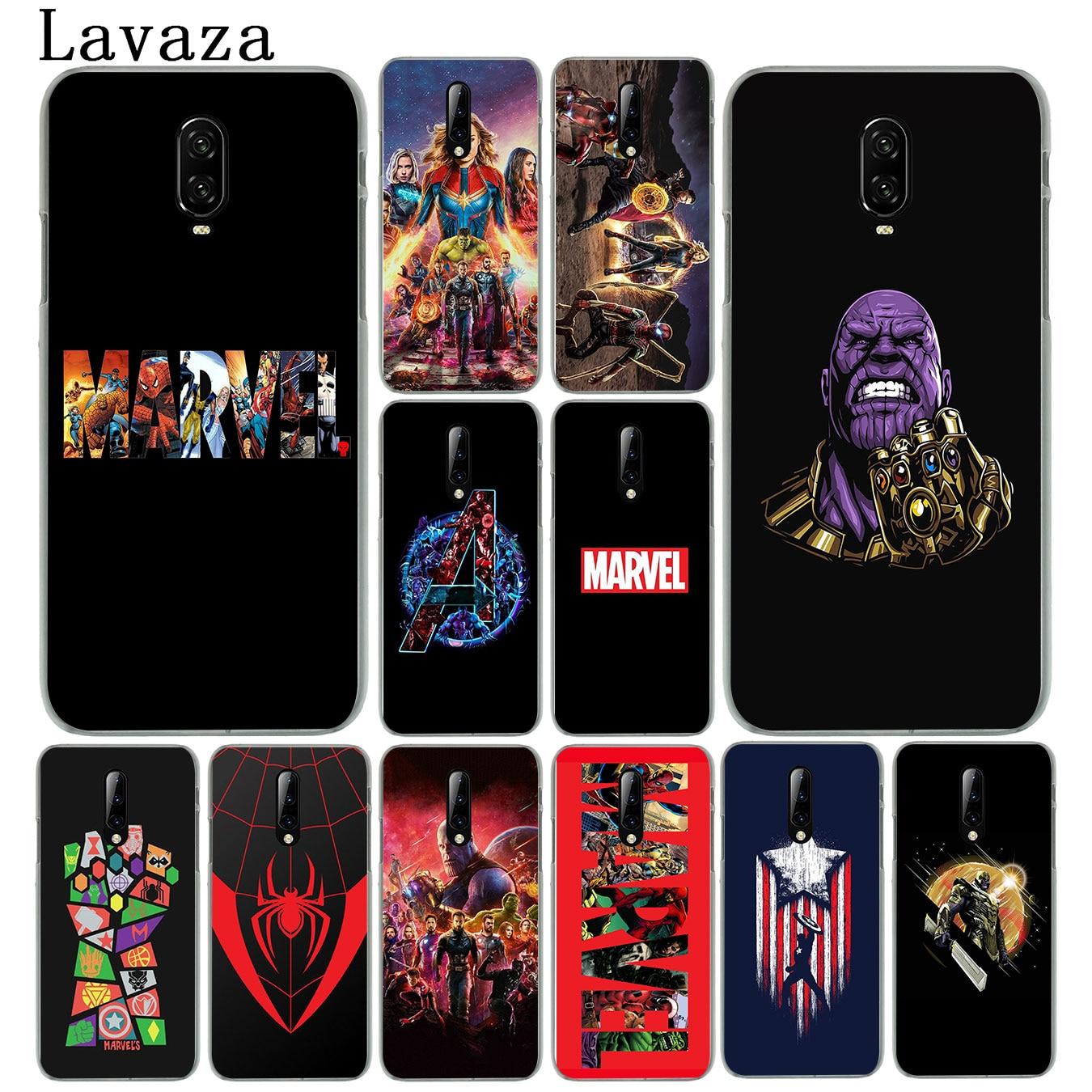 Hombre Araña Marvel vengadores de plástico duro caso de la cubierta del teléfono celular para Oneplus 7T Pro 6T 5T 5 7Pro uno más
