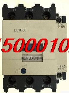 FREE SHIPPING Ac contactor LC1D50M7C LC1-D50 LC1D50Q7C 50A 110V220V380V