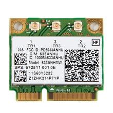 Dual band 450Mbps 633ANHMW Mini PCI-E Wireless Wifi Netzwerk Karte für Intel 6300 6300AGN 802,11 a/g/n Lenovo Thinkpad/HP laptop