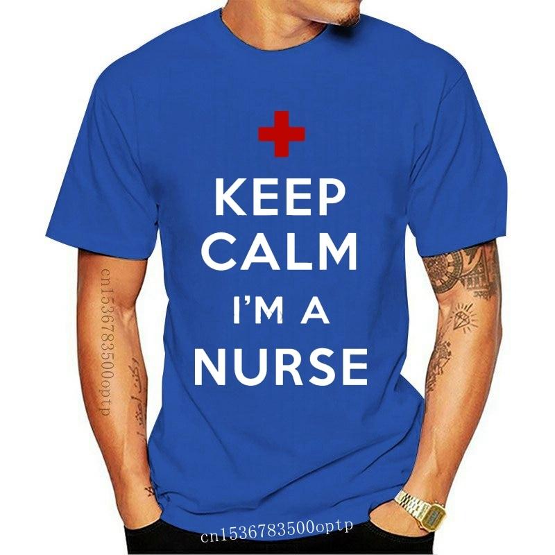 New Gift For Nurse T-Shirt Keep Calm And Nurse ON T-Shirt NCLEX Tee Shirt