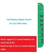 jc v1s battery repair board for iphone 11 12 battery replacement read write and health repair battery pop