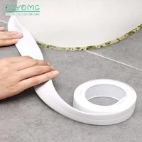 Bande adhesive de scellage en PVC pour evier  cuisine  salle de bain  douche  evier  autocollant mural  etanche  pour porte dangle