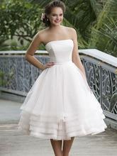 Robe De mariée personnalisée luxe perlé fronde blanc grande taille robe De mariée arabe Vestidos De Novia 2018 plage