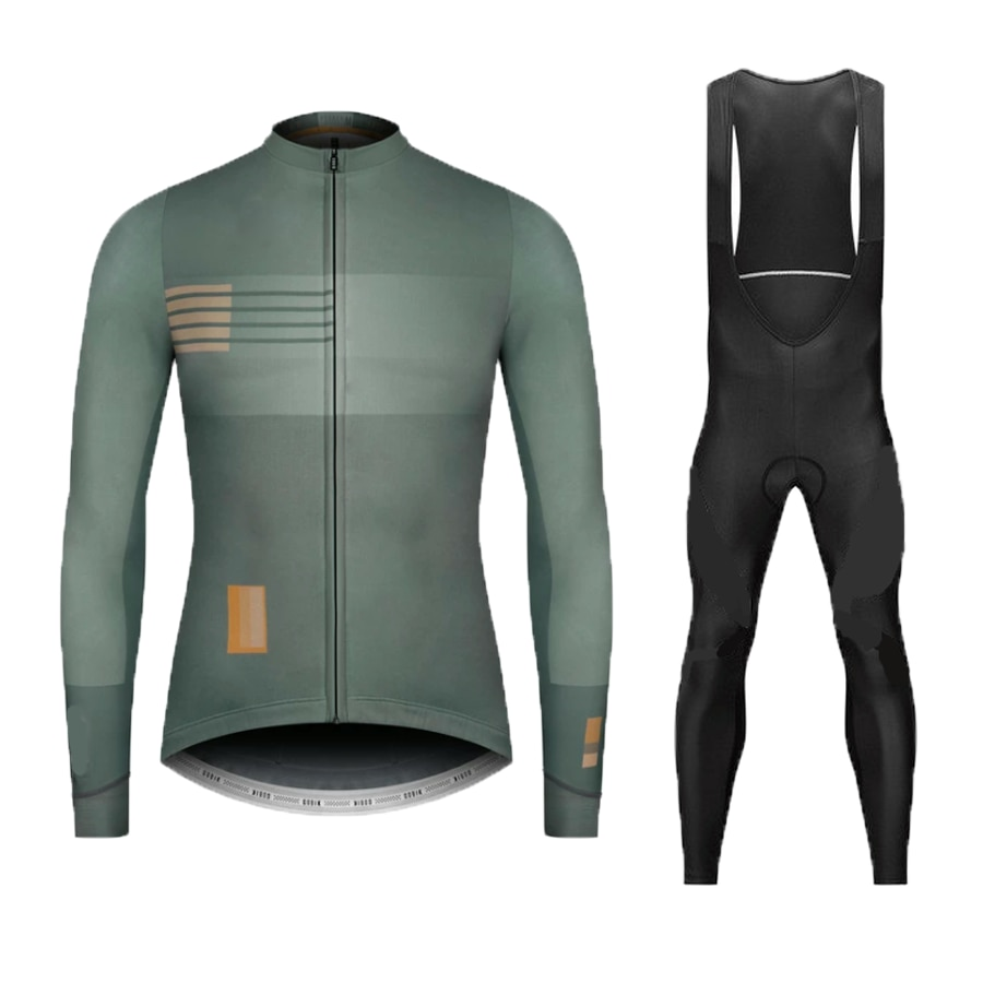 Conjunto de roupa de ciclismo equipe de outono 2020, camisa de manga longa nw, roupa de corrida respirável para bicicleta, mtb, bicicleta com gel 9d almofada almofada