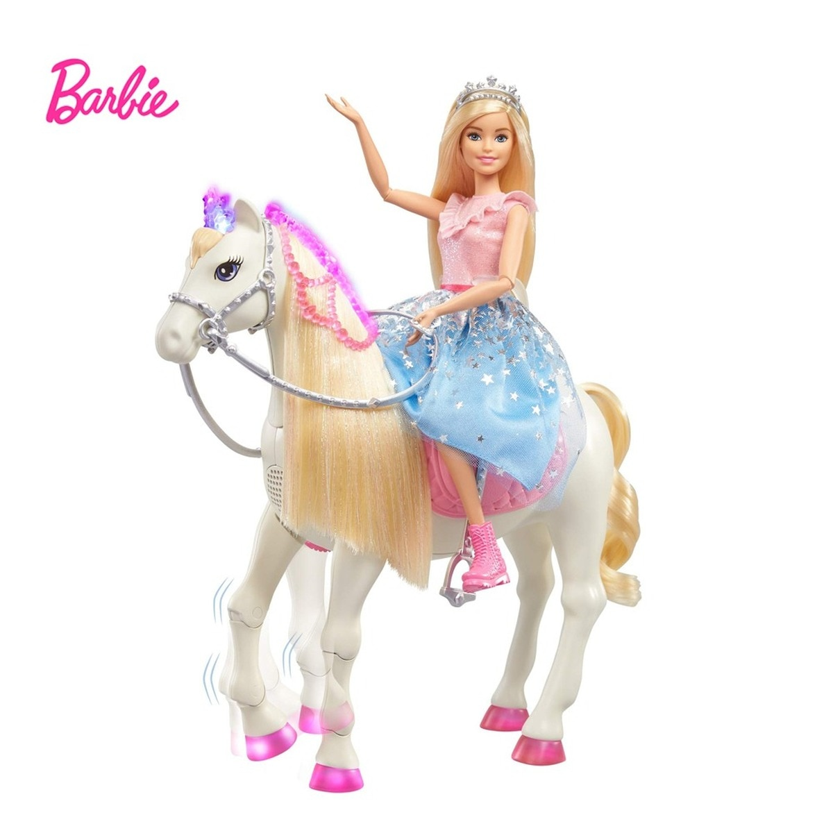 Juego de princesas de ensueño de Barbie para niños, juego de juguetes...