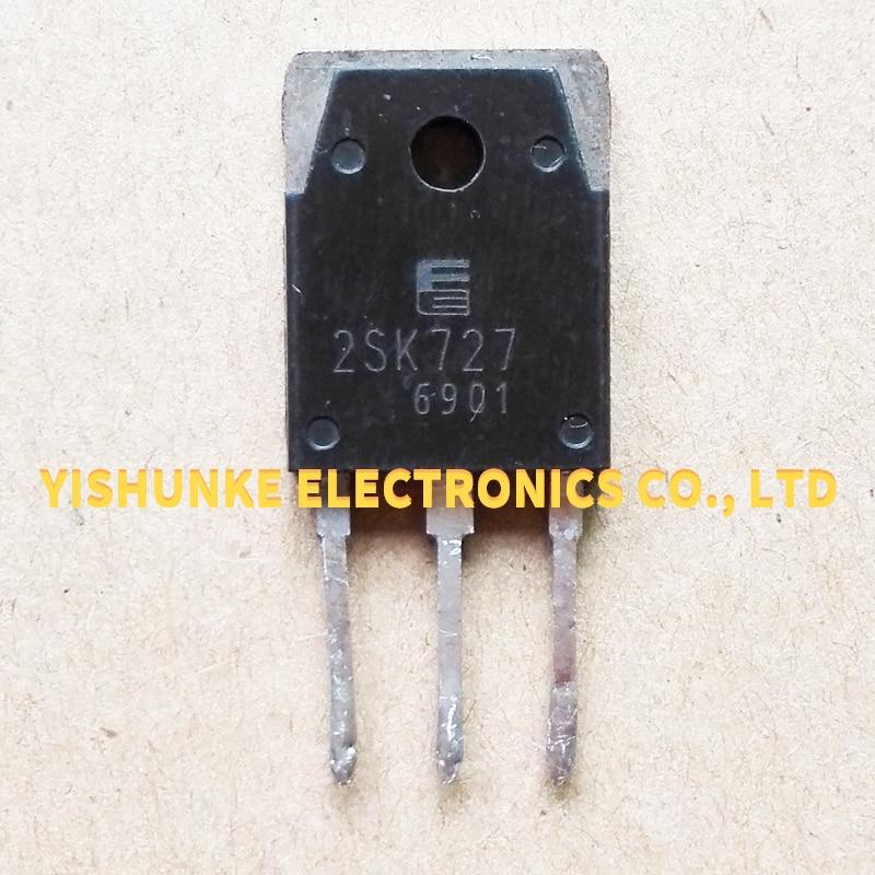 10PCS 2SK727 K727 TO-3P TRANSISTOR MOSFET 5A 900V