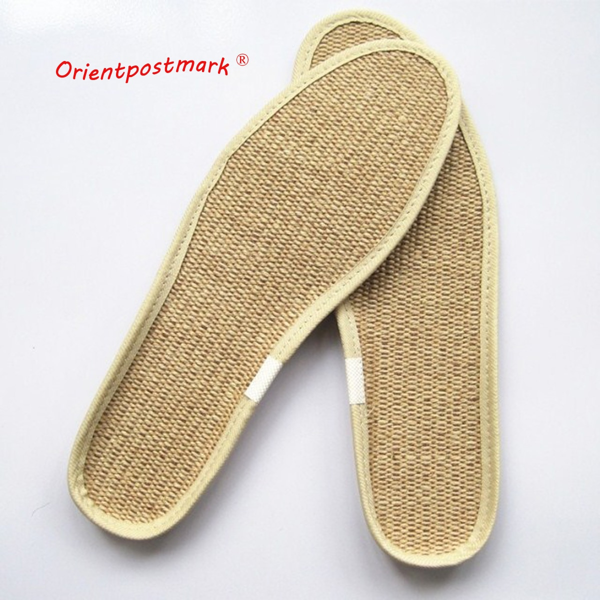 sweat absorbent breathable solid insoles unisex non woven fabric white insoles comfortable soft disposable sanitary insoles Jute EVA Insole Non-slip Linen Insole Durable Comfort Flax Absorbent  Breathable Unisex Sports Insoles Deodorant