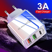 Quick Charge 3.0 QC PD Charger 48W USB Fast Charging accessories for mobile phones Charger For iphon