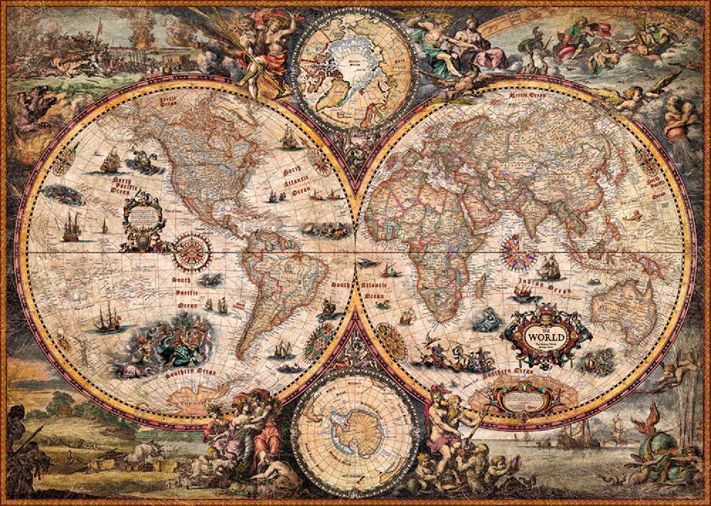 Новая сборная карта мира, необычная игрушка-головоломка, развивающие игрушки для детей, подарок 2000