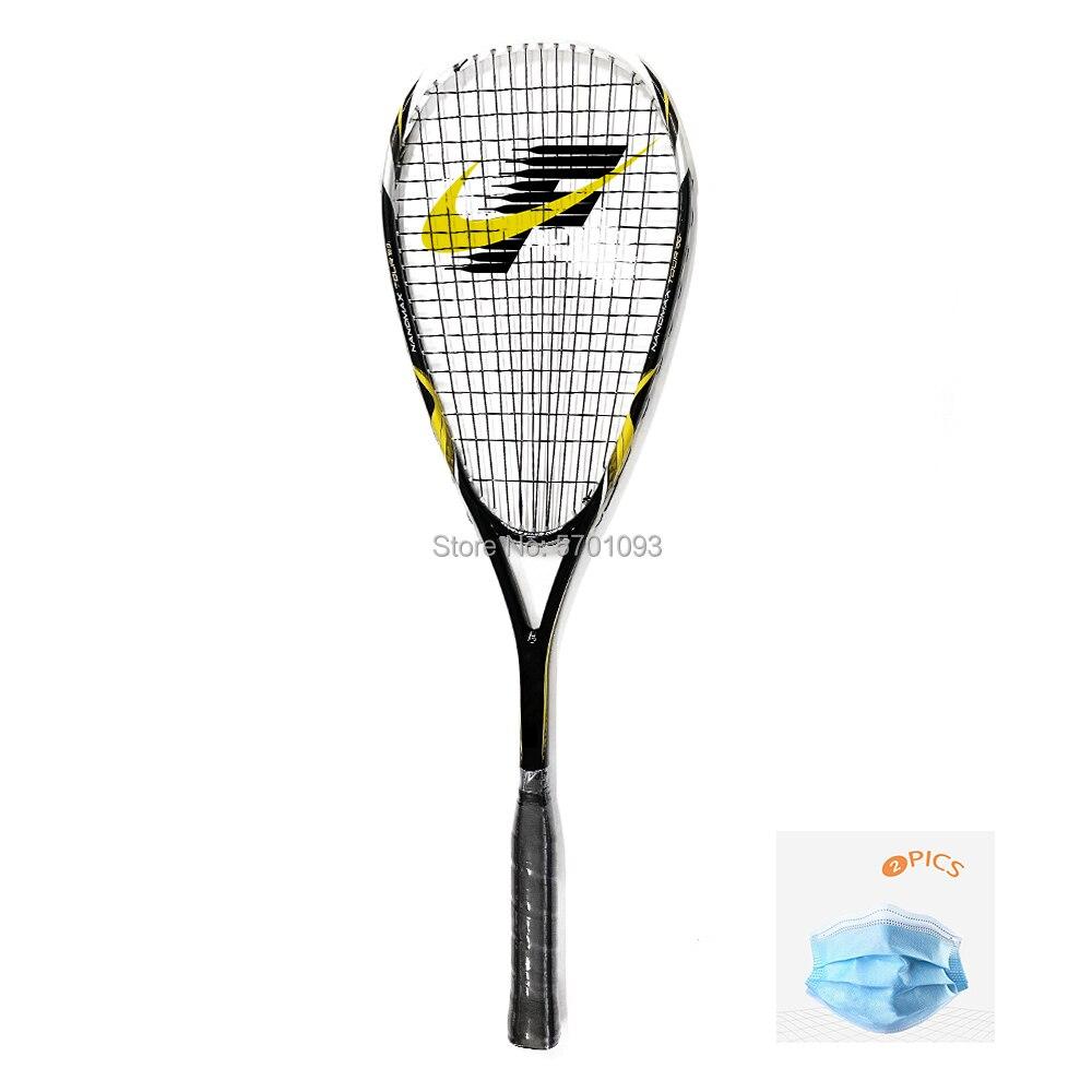 SPEEDMINTON Official  Carbon Squash Rackets Racquets Racquete De Squash Training Sports Graphite Acce