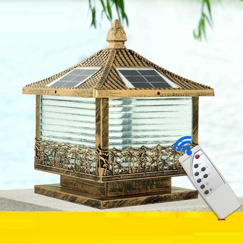 Kerst Huisjes Landscaping Post Lamp Garden Light LED Solar Spotlight Outdoor Terraza Y Jardin Decoracion Landscape Lighting enlarge