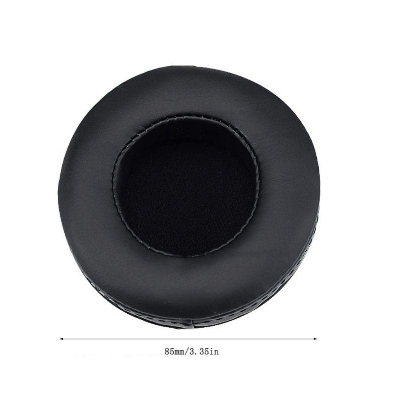 2 pçs almofadas de couro macio espuma da orelha capa almofada para skullcandy hesh 2.0 fone ouvido c90f
