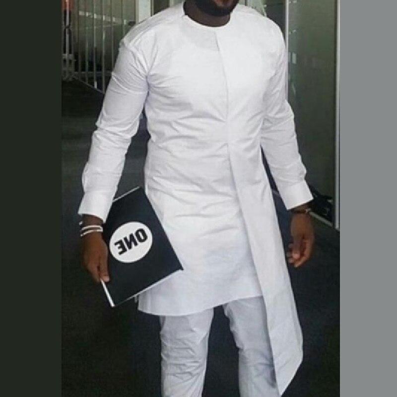 Ropa Africana camisa de Ankara para hombres, tops de impresión de cera para hombre, camisas largas dashiki, traje de novio africano hecho a medida