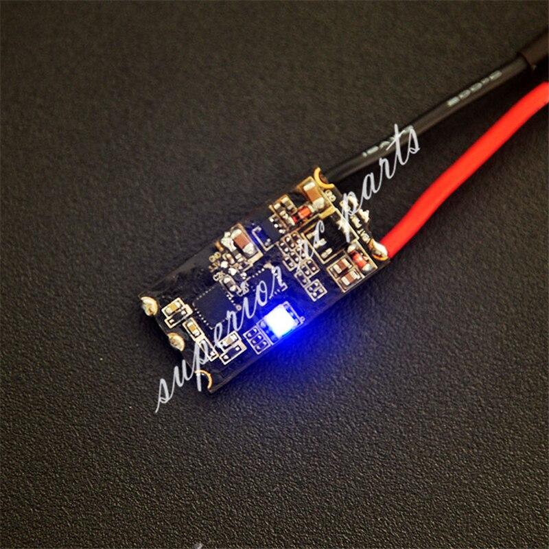 BS30D 30A 2-6S sin escobillas ESC con RGB LED BLHeli_S Dshot para Dron de carreras con visión en primera persona