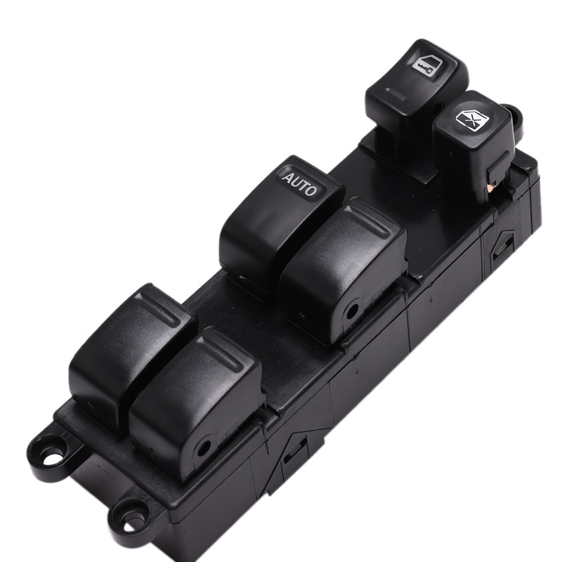 1 Pcs Black Car Window Lifter Control Switch Left Hand Driver Side Power Master Window Switch, for Subaru Impreza Nissan Maxima
