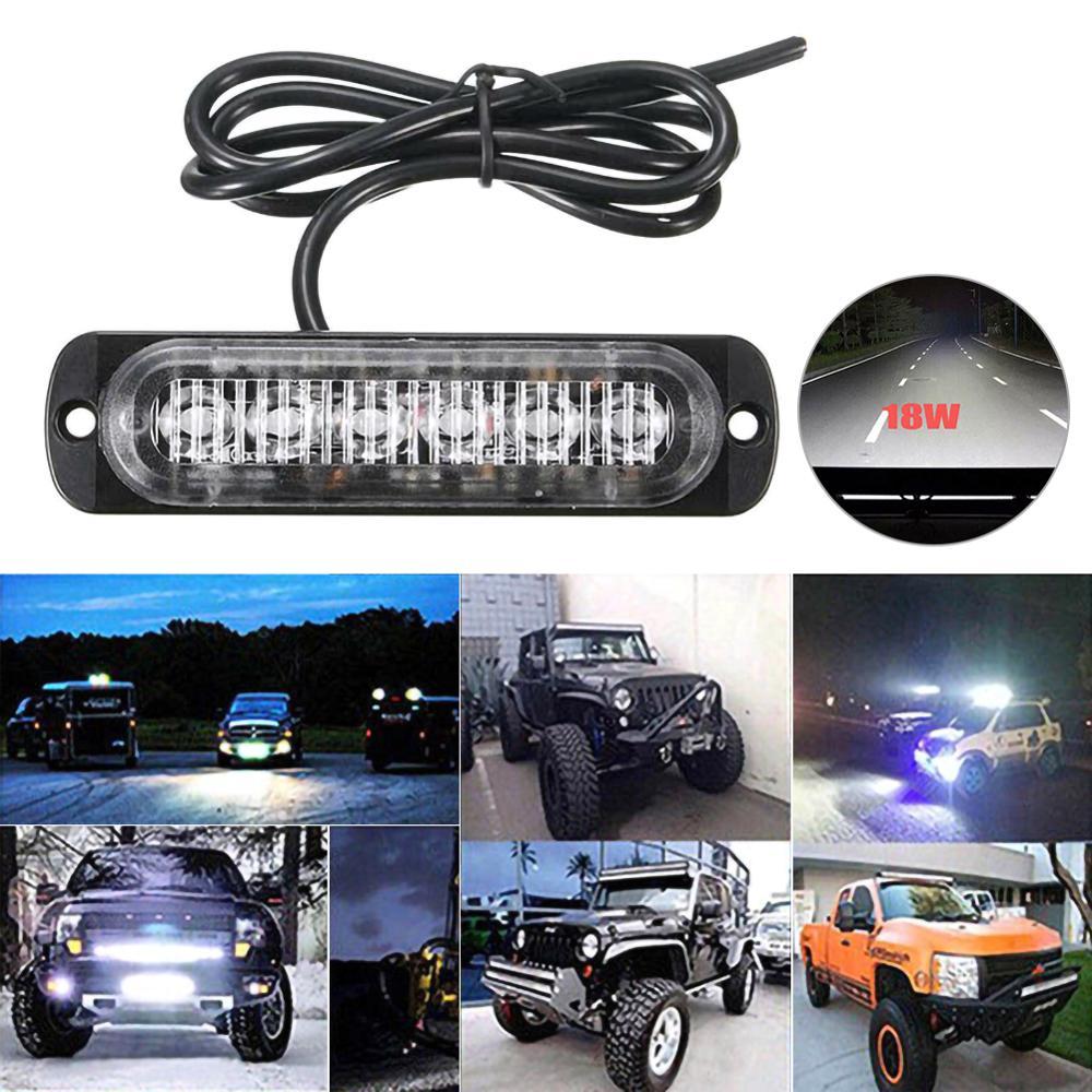 Cc 12V-24V LED barre lumineuse de travail inonde la tache Offroad 4WD voiture SUV conduite antibrouillard