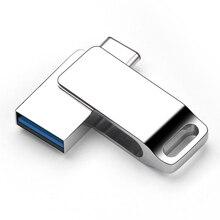 Lecteur Flash USB C créatif 3.0 lecteur de stylo 32GB 16GB 64GB clé USB 3.0 capacité réelle pour Xiaomi Huawei Type C Flash USB Flash PC