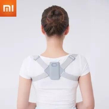Cinto de Postura oi + Cinto de Postura Xiaomi Inteligente Lembrete Postura Correta Usar Respirável
