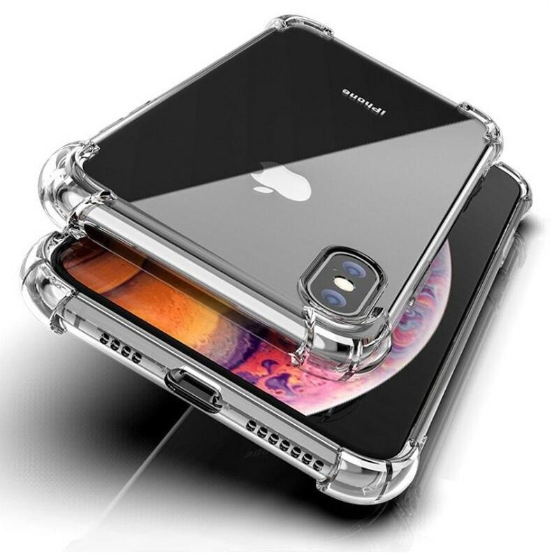 Ultrafino TPU transparente, blando Funda de cristal para IPhone 11 PRO XR XS MAX 6 6S 7 8 Plus funda de parachoques transparente a prueba de golpes