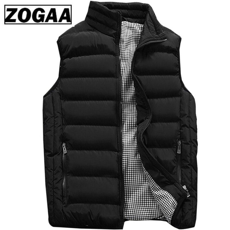 Chaleco para hombre nuevo elegante 2019 primavera otoño cálido chaqueta sin mangas Chaleco de invierno para hombre chaleco Casual para hombre más tamaño 5XL