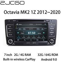 Car Multimedia Player Stereo GPS DVD Radio Navigation Android Screen for Skoda Octavia MK2 1Z 2004~2013