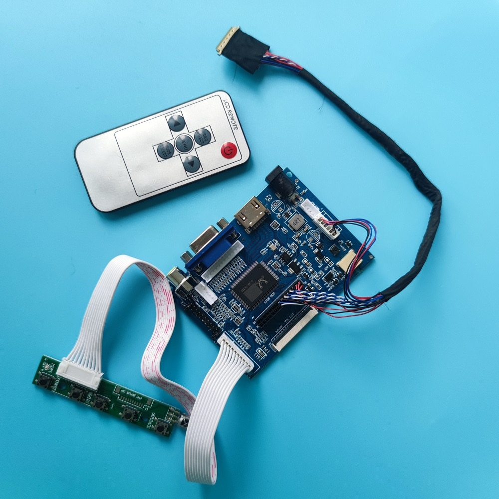 LCD ل B116XAN02.3/BT156GW02 V.0 l رصد VGA 2AV 40 دبابيس لوحة شاشة HDMI تحكم لوحة للقيادة 1 مصابيح 1366 × 768 LED