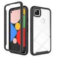 shockproof tpu silicone bumper phone case for google pixel 3a 4a 5 4 5g xl anti fall protection cover
