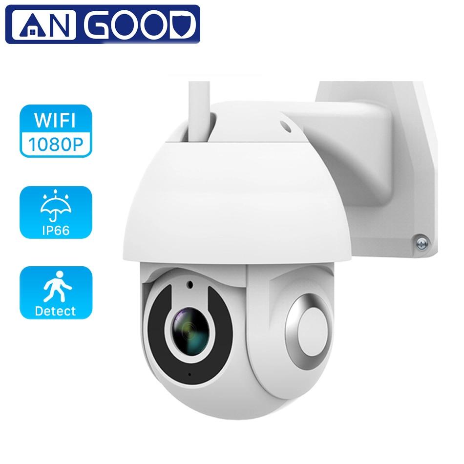ANGOOD V380 Outdoor IP66 Smart IP Kamera HD 1080P 2MP PTZ Sicherheit System Unterstützung Onvif Tf-karte Wolke Lagerung speed Dome Monitor