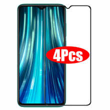 4PCS Full Cover Tempered Glass For Xiaomi Redmi Note 7 8 9 10 Pro 8A 9A Glass Screen Protector For POCO X3 NFC M3 Pro F3 Glass