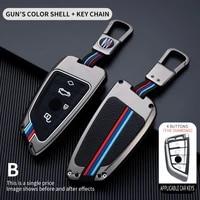 zinc alloy car key case cover shell for bmw f20 g20 x1 x3 x4 x5 f15 x6 f16 g30 7 series g11 f48 f39 520 525 f30 118i 218i 320i