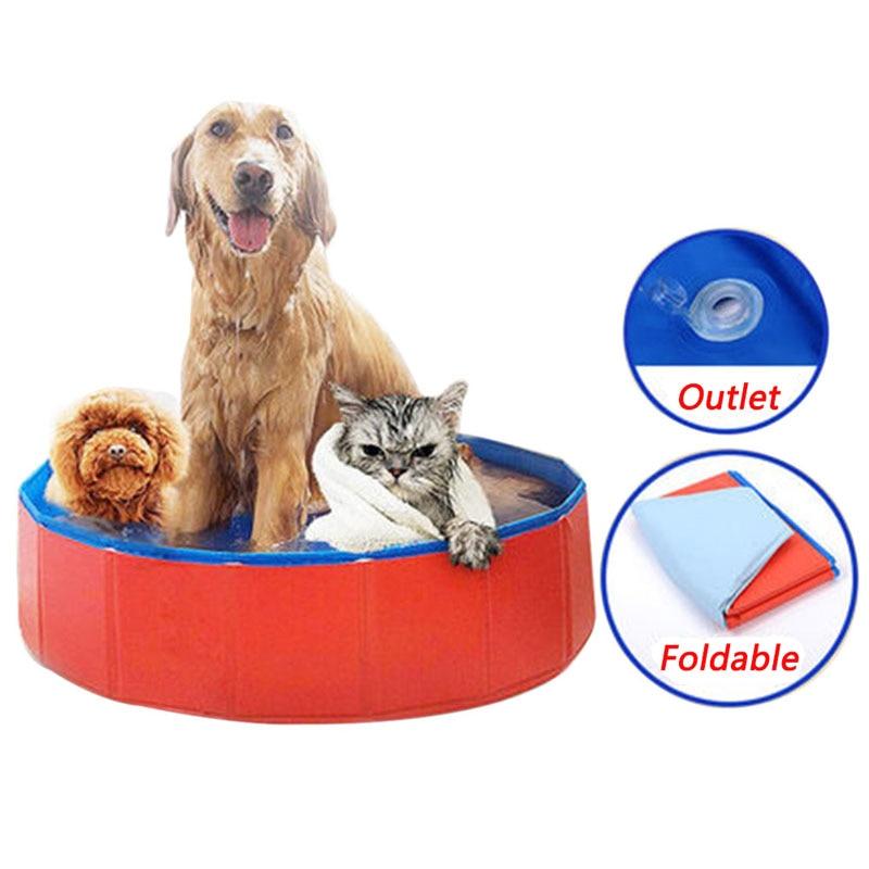 Perro mascota baño piscina plegable para mascotas bañera para mascotas aseo de mascotas baño piscina grande de tela para perro piscina productos para mascotas