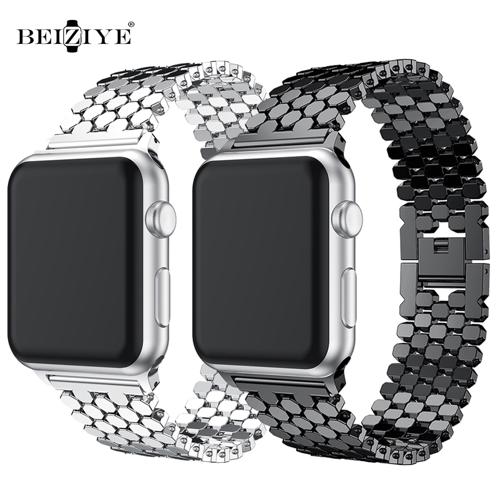 metal link bracelet for apple watch 6 band 40mm 44mm iwatch band 38mm 42mm stainless steel strap band for apple watch 6 SE 5 4 3 woman strap for apple watch band 40mm 44mm link bracelet iwatch band 38mm 42mm stainless steel for apple watch series 6 5 4 3 2