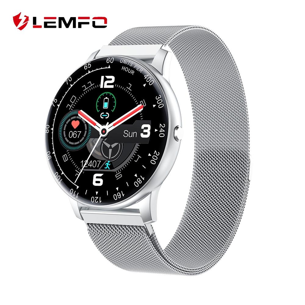 Смарт-часы LEMFO H30, 2020, для мужчин, сделай сам, часы для лица, IP68, водонепроницаемые, пульсометр, браслет для Android Iphone, умные часы