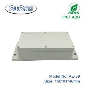 1pcs/lot 158*91*46mm DIY tablet wall mount ABS enclosure junction box enclosure waterproof box enclosures for pcb