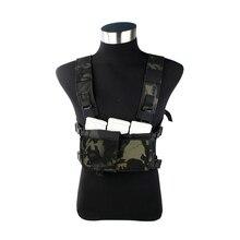 2019 nouveau MCBK léger poitrine gilet SS poitrine plate-forme Multicam noir