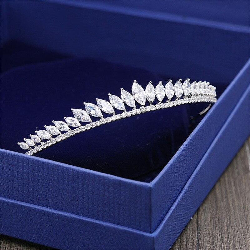 Tiaras De circonita para el cabello accesorios para el cabello De boda,...
