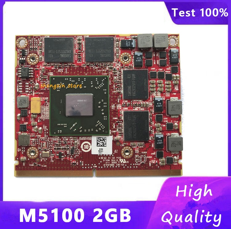 Original M5100 216-0846000 2G CN-05FXT3 05FXT3 Video gráfico tarjeta VGA para DELL M4700 M4800 M4600 prueba 100%
