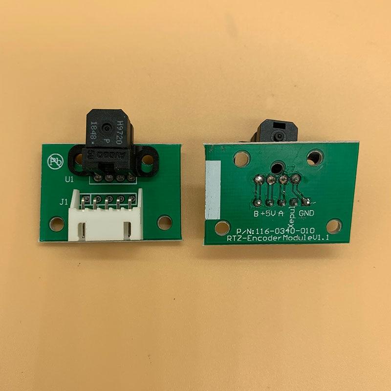 1 piezas Spectra polaris 512 cabezal de impresión codificador raster de sensor para la Flora LJ520P LJ320P LJ5208P LJ3208P impresora sensor del codificador H9720