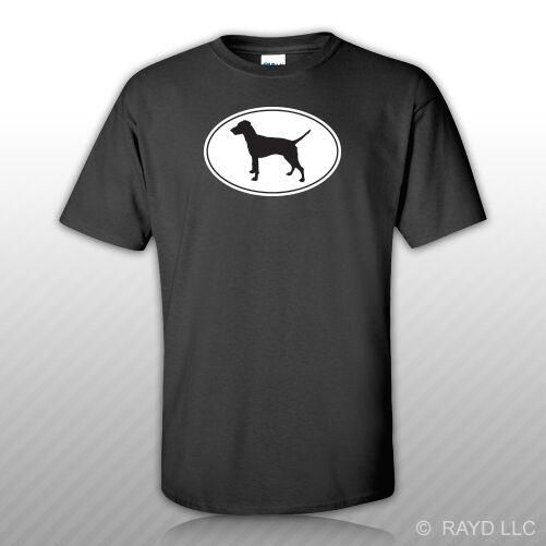 Pinscher alemán Euro ovalado camiseta gratis etiqueta perro canino mascota