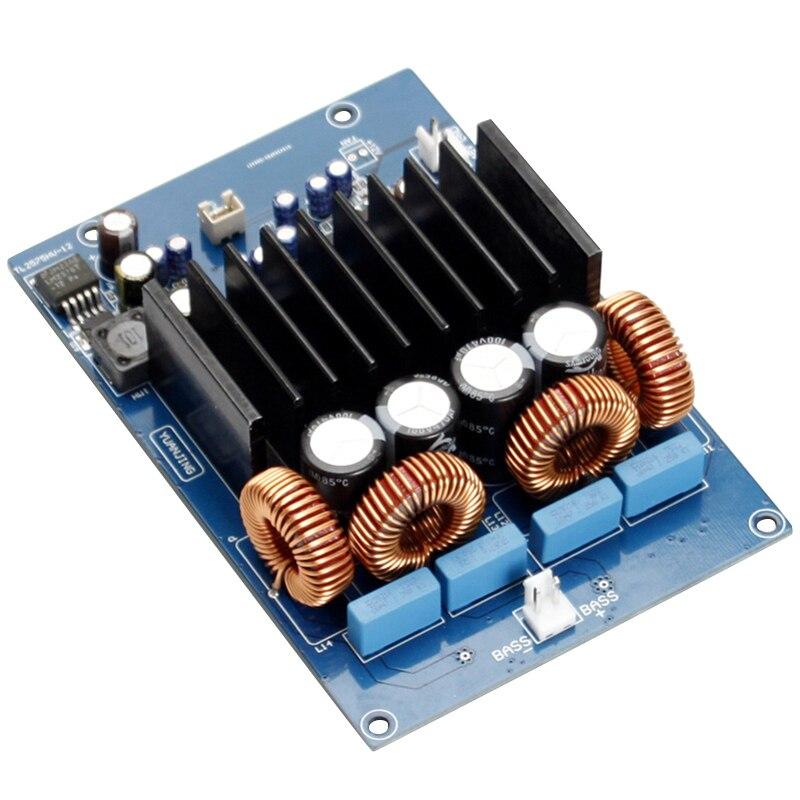 Placa amplificadora de potencia Digital 600W TAS5630 monoamplificadores de sonido OPA1632 Amplificador de altavoz para o Home Theater