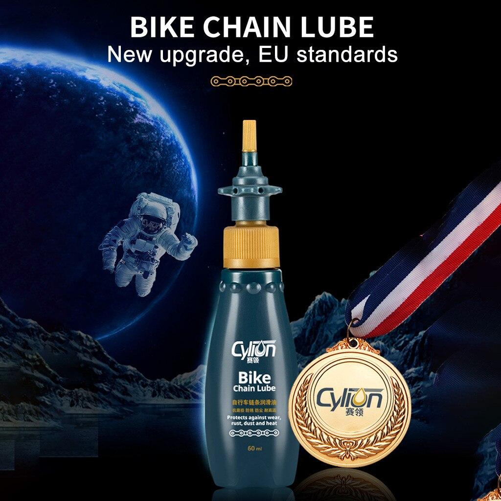 Aceite lubricante para cadena de bicicleta de montaña Cylion, Accesorios de limpieza...
