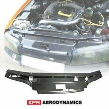 Pour Nissan R33 horizon GTS GARA Style fibre de carbone brillant fini panneau de refroidissement accessoires extérieurs kits de carrosserie (Spec 1 seulement)